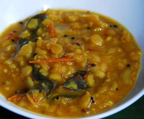 Vegetarian Toor Dhal Recipe