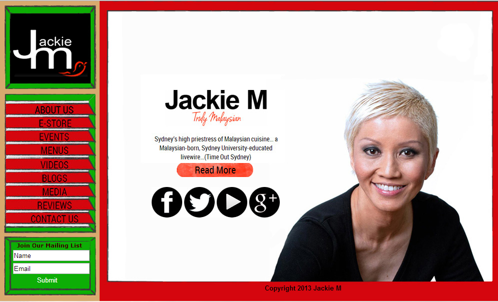 Welcome to Jackie M.com.au, Your Destination For Truly Malaysian Cuisine
