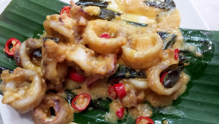 How to Make Squid with Butter & Evaporated Milk *As Seen On TV*