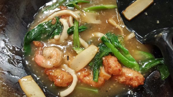 Kway Teow Siram Sauce