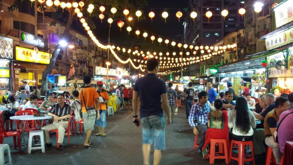 Jalan Alor at night