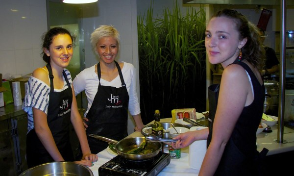 Cooking Class; photo courtesy of James & Ken Burgin