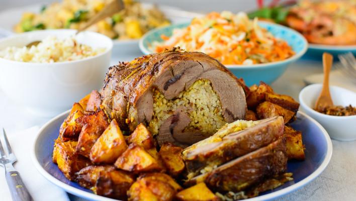 Nasi Lemak Roast Lamb