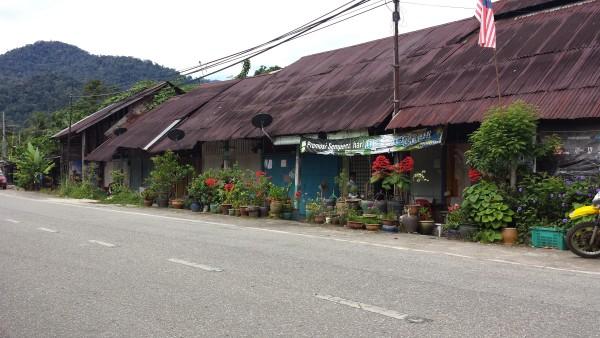 Town outside Sukasuka Lake Retreat.