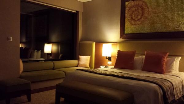 Ocean Wing suite at Shangri-La Rasa Ria Resort