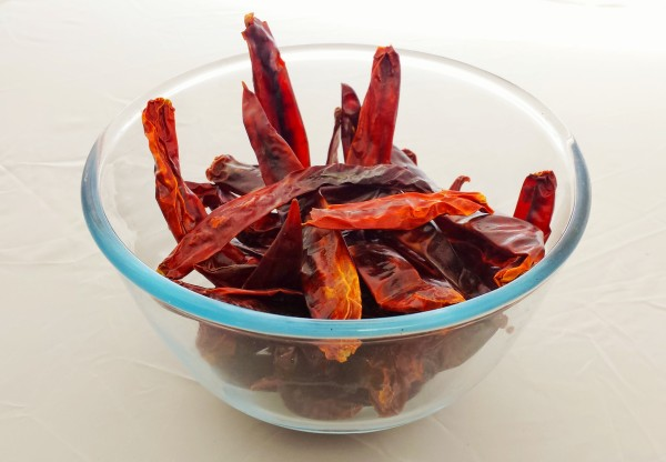image of large dried chillies