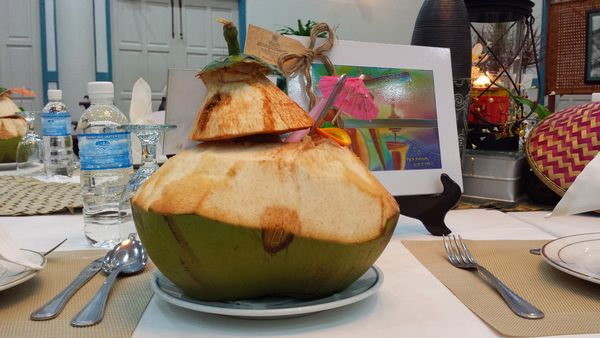 Coconut Juice from fresh young coconut