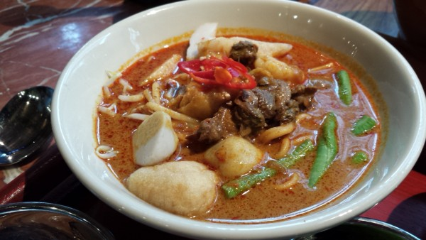 Grand Hyatt KL's Curry Laksa