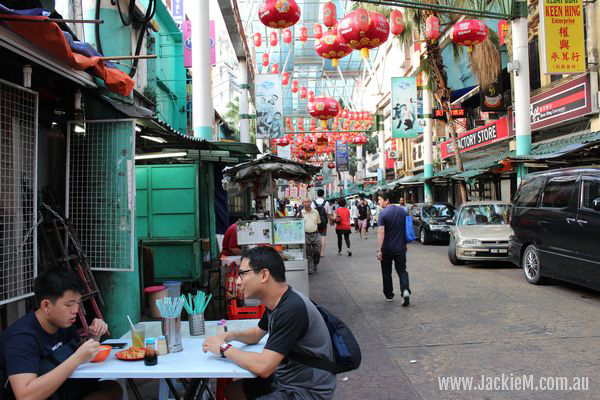 Chinatown in the morning