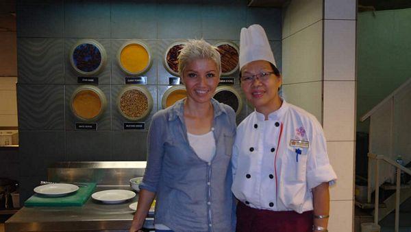 With Chef Chan of Swiss Inn Kuala Lumpur