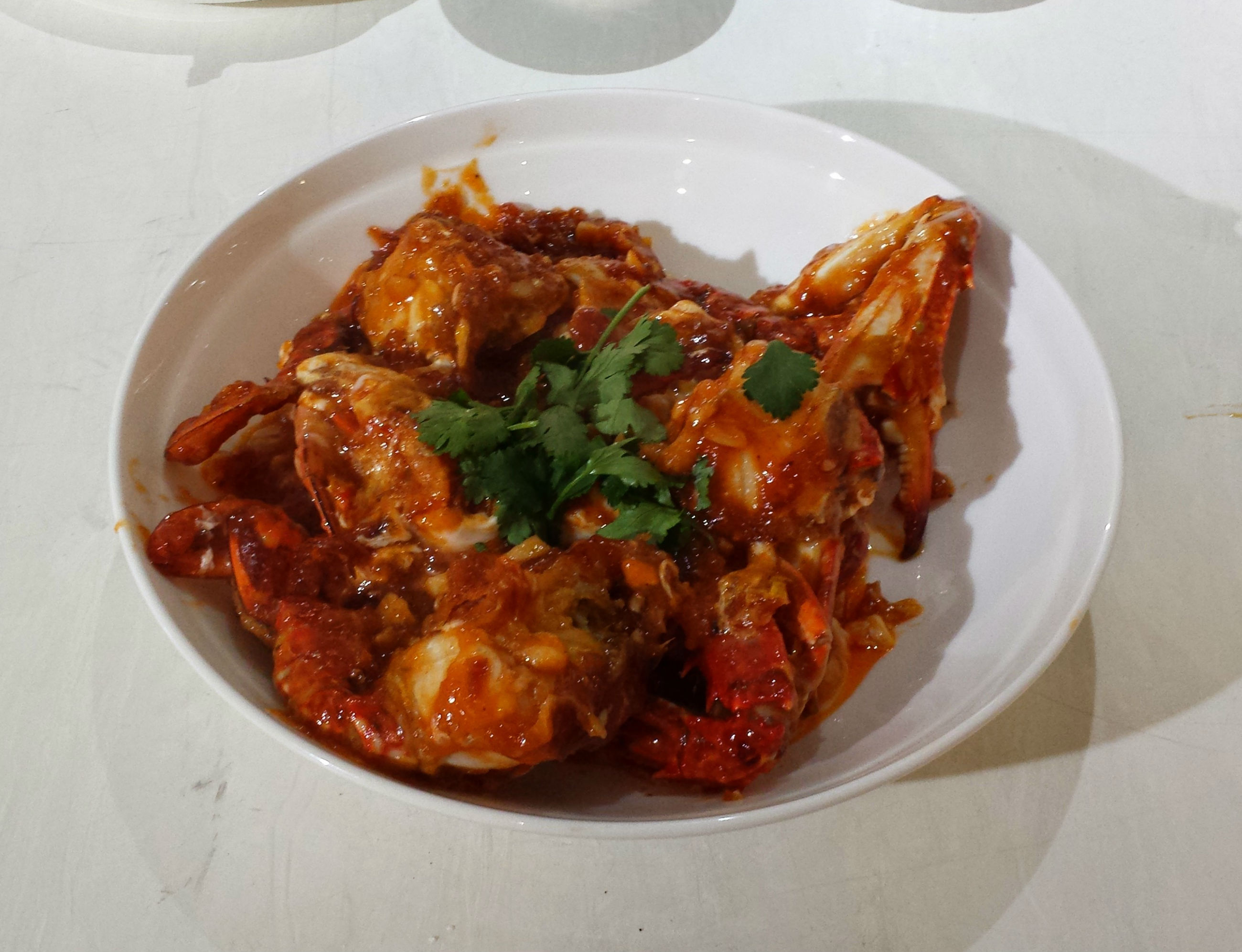 Chilli Blue Swimmer Crabs