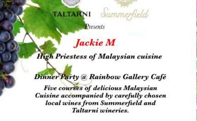 Press Release: Jackie M Charity Wine Dinner in the Pyrenees
