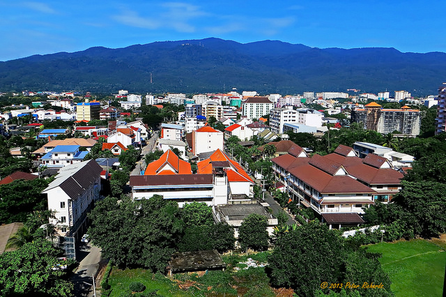 Chiang Mai City Photo credit: https://www.flickr.com/photos/doiboipete/ via Flickr CC 2.0