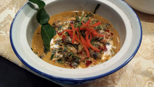Northern Thai Snail Curry