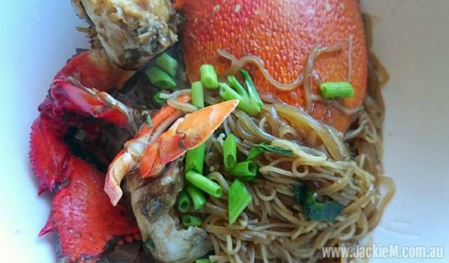 How to Cook Crab Bee Hoon