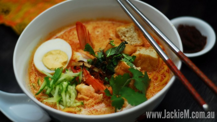 How to Make Laksa Nyonya (Thermocook Method)