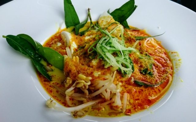Laksa Nyonya Recipe from My TAFE NSW Masterclass Presentation