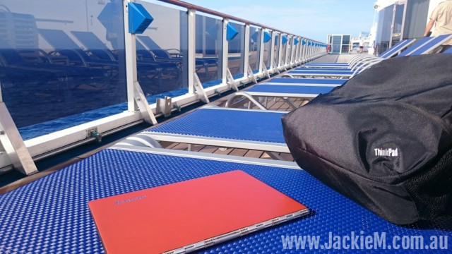 Sundeck on board the Carnival Legend