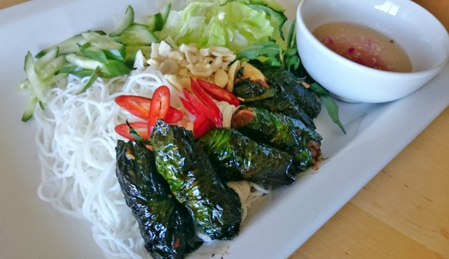 How to Make Bo La Lot (Wild Pepper Leaf Beef Rolls)
