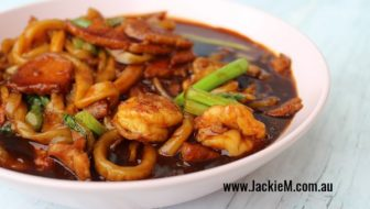 How to Make Wheat Noodles for KL Hokkien Mee