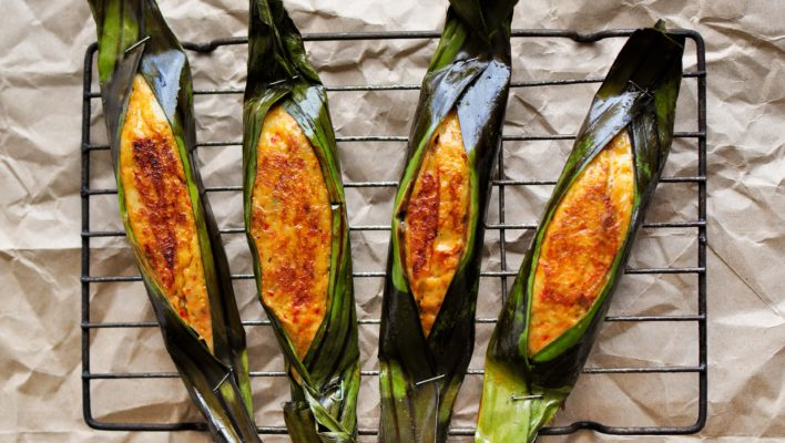 How to Cook Malaysian Otak-Otak (Fish Cakes) – Asian BBQ Series