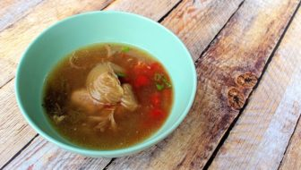 How to Cook Duck Soup with Salted Vegetables