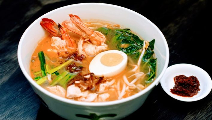 How to Make Low-Carb Malaysian Prawn Noodle Soup (Har Meen)
