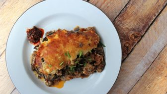 How to Make Asian-Style Moussaka (Low-Carb)