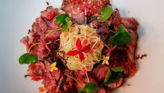 How to Make Khmer Red Ant Beef Salad