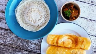 How to Make South Indian Appam, Dosai and Mutton Curry