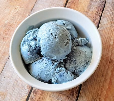 How to Make Easy Blue Pea Flower Ice Cream