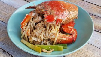How to Cook Cheesy Crab Noodles