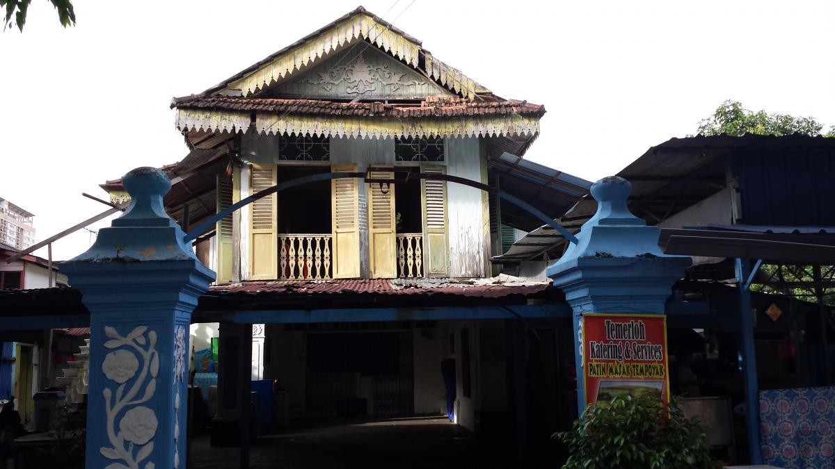 House in Kampung Baru, KL