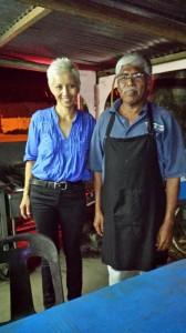 My fellow CKT vendor in Lenggong, Perak