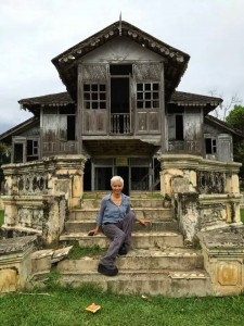Former residence of the Sultan of Perak's second wife in Kuala Kangsar