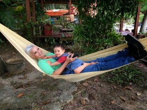 Hammock at Suka-Suka Lake Retreat