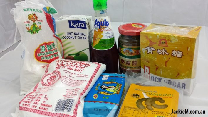 Malaysian Pantry Ingredients