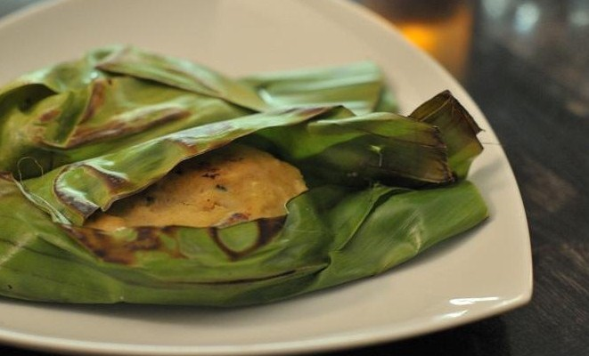 OTAK-OTAK – Grilled Spicy Fish Cake in Banana Leaf