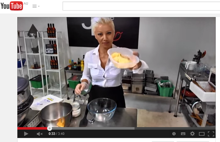 Jackie M - Quick and Easy Durian Ice Cream (using Dry Ice) - YouTube