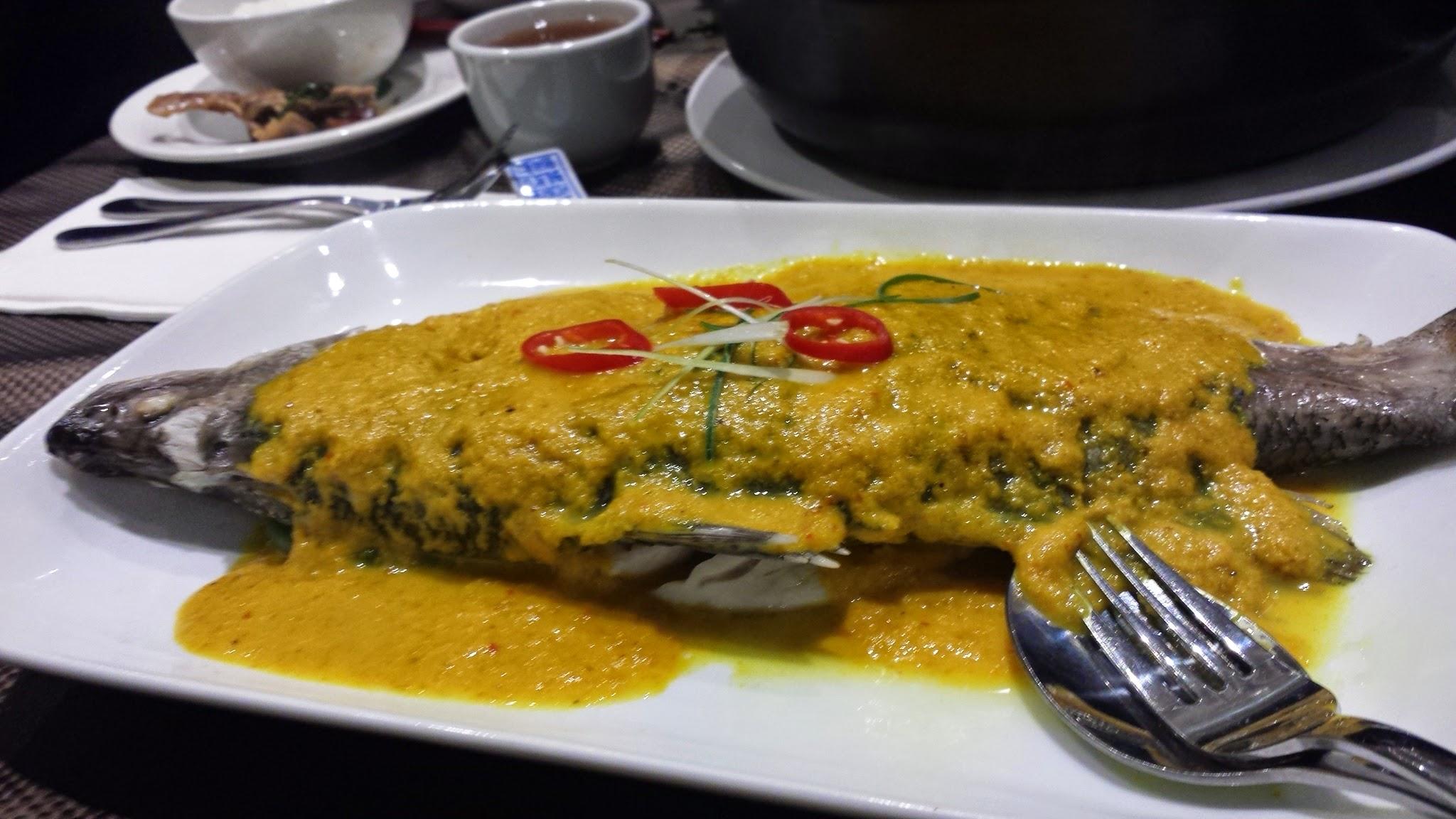 Nyonya Steamed Fish
