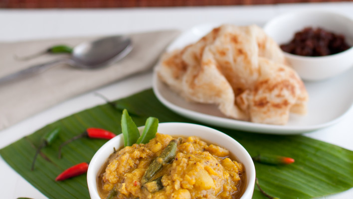 How to Make Lentil Dip for Roti Canai