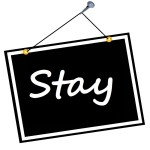 sign stay