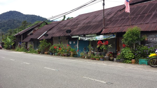 Town outside Sukasuka Lake Retreat.