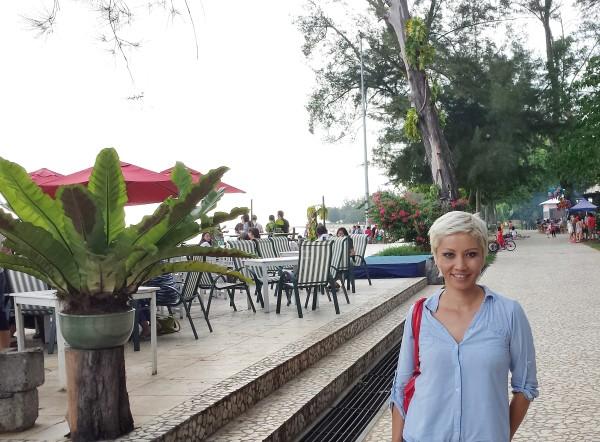 Kota Kinabalu waterfront.
