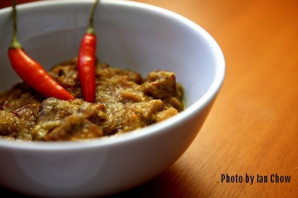 Chicken Rendang made with the Jackie M Mild Rendang Paste