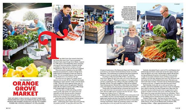 OGM featured in SBS' Feast Magazine