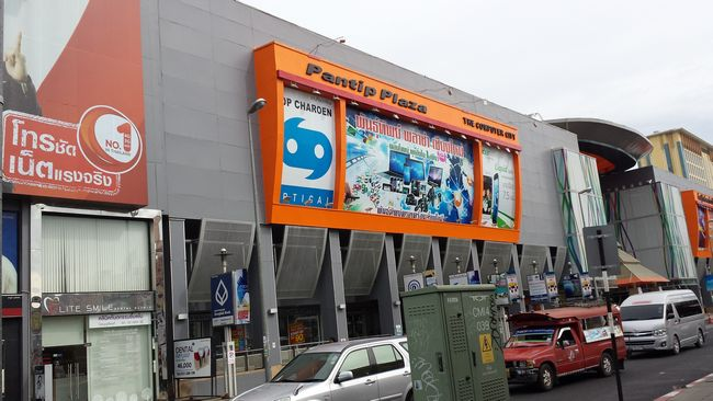 Pantip Plaza - where I had picked up a tripod and some phone mounts at great prices.
