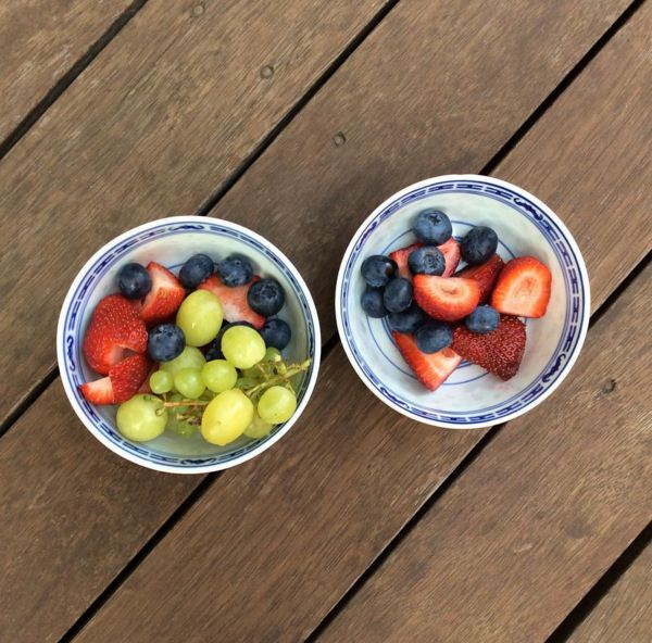 """""""Summer for the family means an awesome range of berries and grapes."""""""