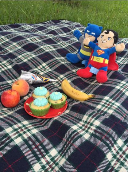 """""""Summer means picnics at the park."""" - Ness"""