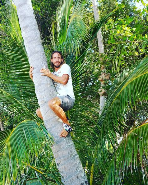 """""""Summer means forcing Claudio up coconut trees because there aint nothing better than fresh coco water to hydrate you. Hehehehe."""" - Olivasaurus"""